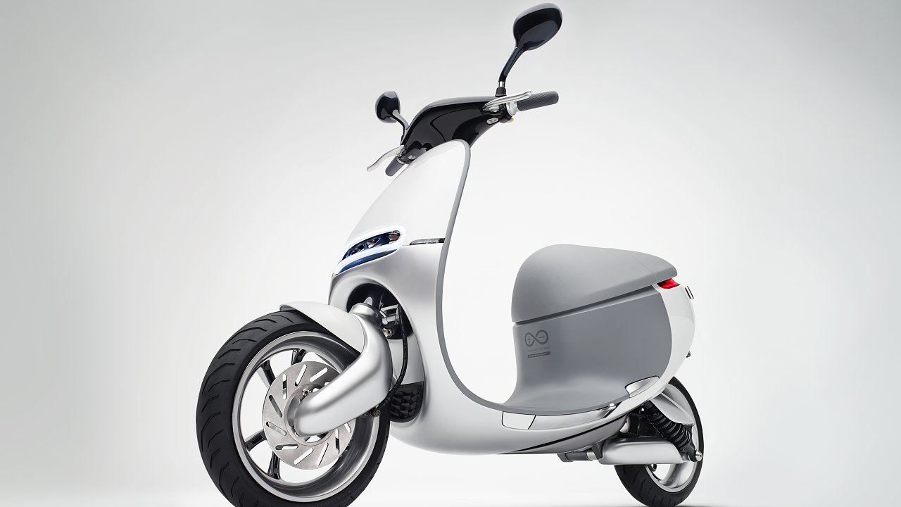 03 Gogoro electric scooter