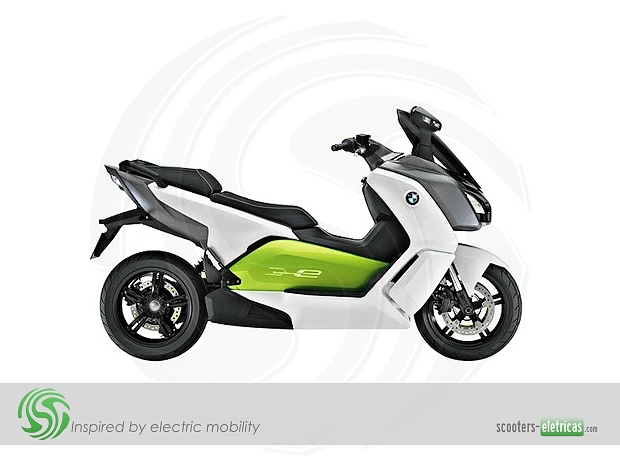 scooter elétrica BMW C Evolution