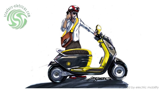 Mini E-Scooter Concept