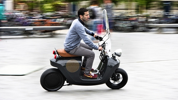 scooter eletrica be-e
