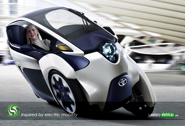 Toyota i-Road, do papel para a estrada