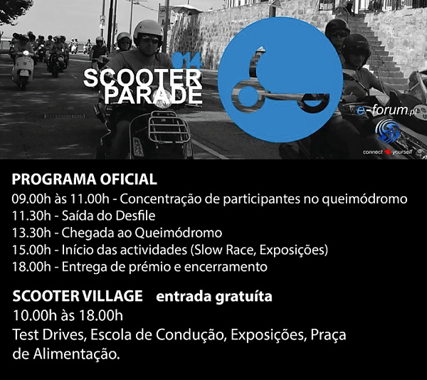 programa scooter parade 2014
