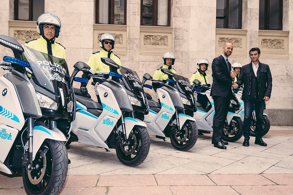 BMW C Evolution Cagliari