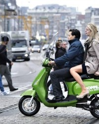 taxi scooter elétrica
