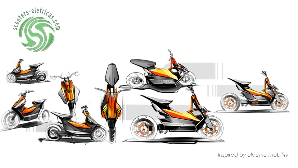 KTM E-SPEED SCOOTER